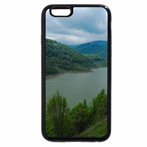 iPhone 6S / iPhone 6 Case (Black) Beautiful Romanian Lake