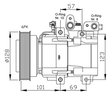 Nrf 32204G Sistemas de Aire Acondicionado: Amazon.es: Coche ...