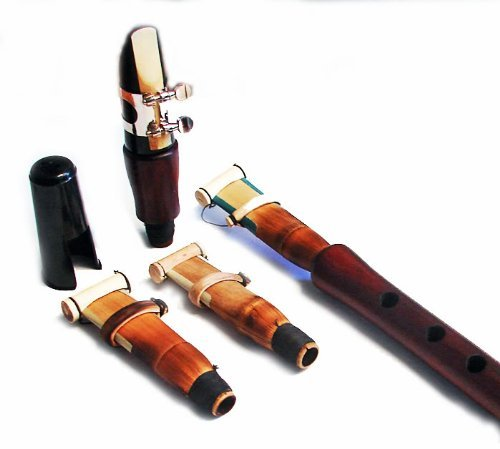 ARMENIAN DUDUK CLARINET Combination Professional Instrument with 3 Reeds and Clarinet Mouthpiece from Armenia Concert Quality made by Master SIMON from APRICOT WOOD - Flute Clarinet Oboe Mey Balaban Kaval Zurna