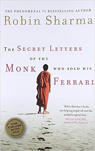 The Secret Letters Of The Monk Who Sold His Ferrari Amazon De Sharma Robin Fremdsprachige Bücher