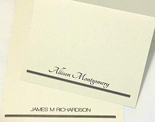 Personalized notecards w//Name //Notecards//Envelopes//Custom Professional Notecards