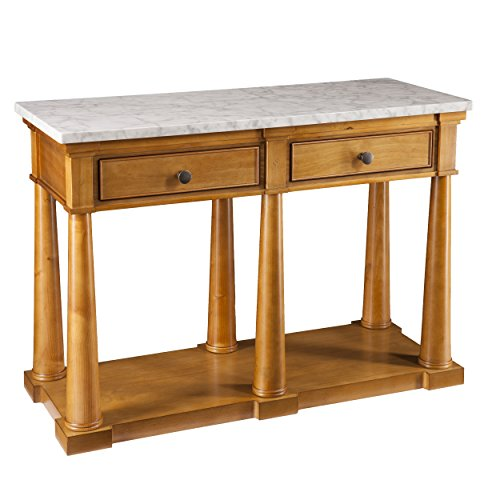 Southern Enterprises AMZ3140KC Grandview Console Table, Glaz