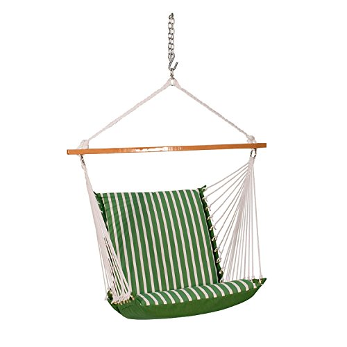 Algoma Net Sunbrella Soft Comfort Cushion Hanging Chair
