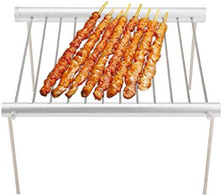 ELENKER Grille du Barbecue Support BBQ Détachable avec