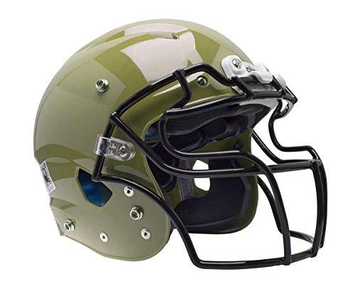 Vegas Gold Football Helmet - Schutt Vengeance Pro Adult Football Helmet (Facemask NOT Included) (Large, Metallic Vegas Gold)