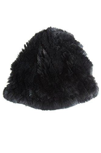 womens-knitted-rex-rabbit-fur-beanie-hat-black-size-1-size