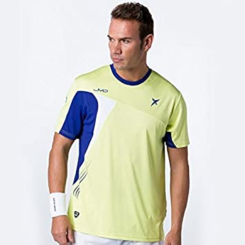 DROP SHOT - T Shirt Pro Elite Jmd, Color Amarillo, Talla S ...