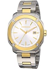 Wenger Men's Quartz Watch analog Display and Stainless Steel Strap, 01.1141.115