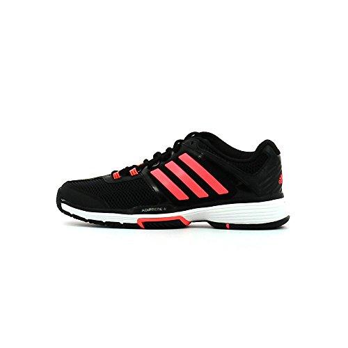 Adidas Barricade Club W, Core Black / Flash Red / White, 39 1/3