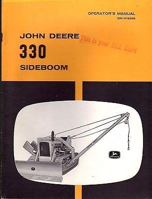- JOHN DEERE 330 SIDEBOOM OPERATORS & PARTS MANUAL OM-W12209 (138)