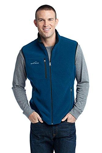 - Eddie Bauer - Fleece Vest, Deep Sea Blue, XXX-Large