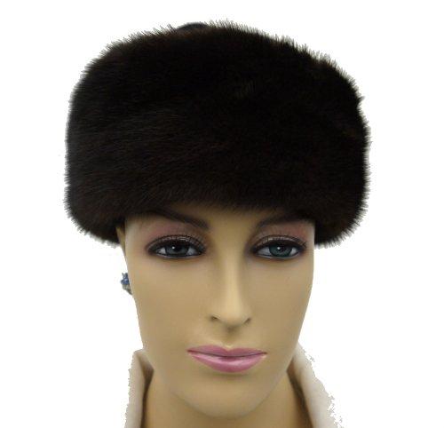Mink Fur Headband Brown by Hima