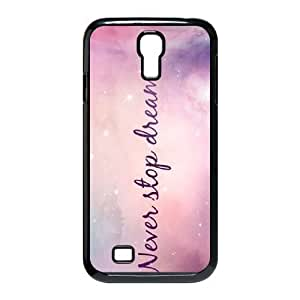 Galaxy Purple Brand New Cover Case for SamSung Galaxy S4 I9500,diy case cover ygtg595817 by supermalls