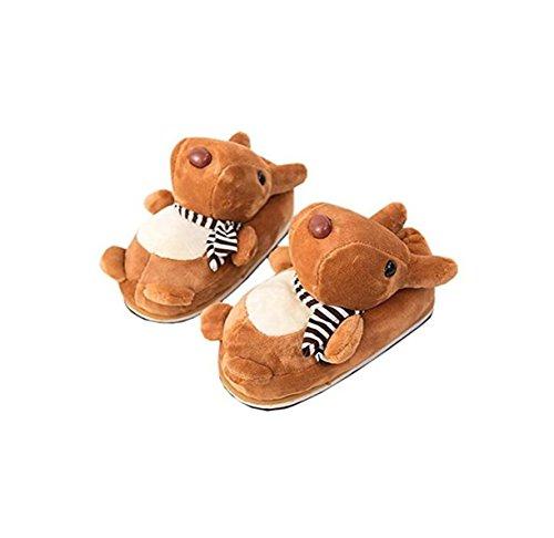 Pantofole Cotone Lanfre Animali Cane Invernale In Domestico Ciabatte Antisdrucciolo Anatre Lanfire qSt0zt