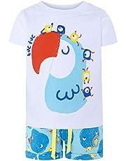 Tuc Tuc Camiseta+Bermuda Punto Estampada Niño Havana&frien Conjunto de Ropa para Bebés