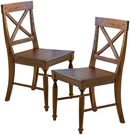 Christopher Knight Home Rovie Acacia Wood Dining Chair
