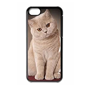 WINDFC British Shorthair Cat Phone Case For Iphone 5C [Pattern-1]