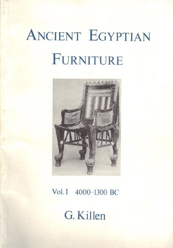 Ancient Egyptian Furniture: 4000-1300 Bc (MODERN EGYPTOLOGY (Ancient Egyptian Furniture)