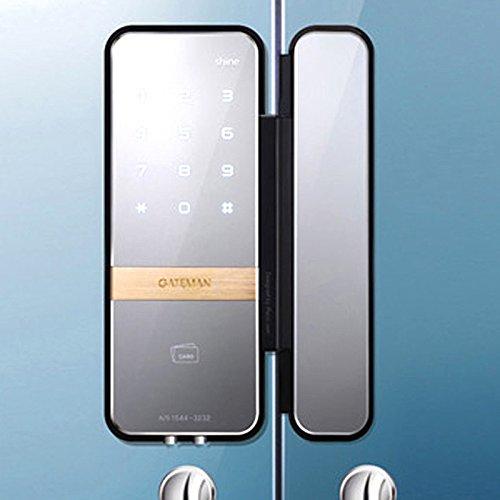 - iRevo GATEMAN Shine Digital Glass Lock for Double Door