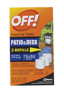 PowerPad Mosquito Repellent Lamp Refill - (3 count) by OFF!