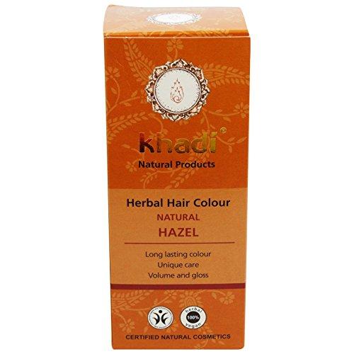 KHADI - Herbal Hair Colour Natural Hazel - Long-lasting - 100% herbal