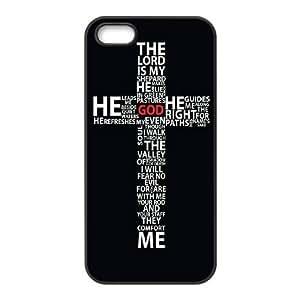 ALICASE Diy Customized Hard Case Jesus Christ Cross for iPhone 5,5S [Pattern-1]