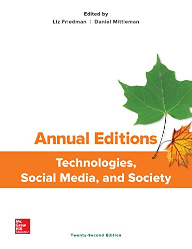 1259873439 - Annual Editions: Technologies, Social Media, and Society