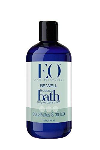 EO Be Well Bubble Bath, Eucalyptus & Arnica, 12 oz (pack de 2)
