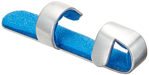 - Rolyan Aluminium Medium Padded Baseball Splint, Pack of 12 Foam-Lined Finger Splints, Easy Application & Wear, Comfortable Immobilizer for Baseball & Softball Players, Pitchers, Catchers, Medium