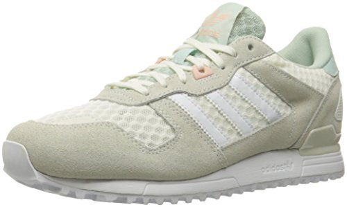 adidas Originals mujer ZX 700 W Fashion Sneaker Off White/White/Vapor Green F16