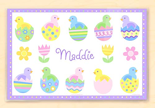 Olive Kids Personalized Easter Placemats Baby ()