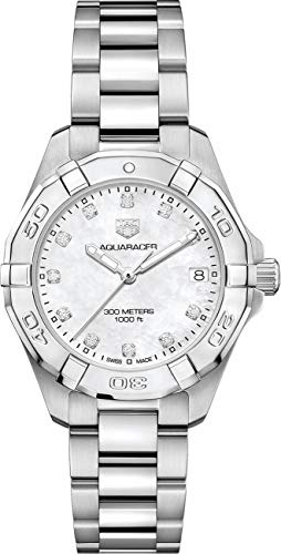 TAG Heuer Aquaracer Stainless Steel 32mm Women's Watch WBD1314.BA0740 ()