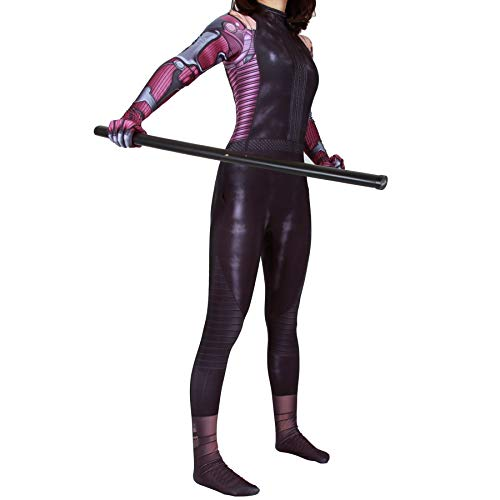 Alita Battle Angel Cosplay Suits Halloween Costume Spandex Bodysuit Zentai (Adult-M, Suit) ...]()