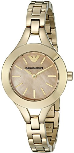 Emporio Armani Women's AR7417 Dress Gold  Stainless Watch