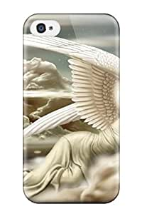 iphone covers Flexible Tpu Back Case Cover For Iphone 6 4.7 - Resting Angel Fantasy Clouds Wings Abstract Fantasy