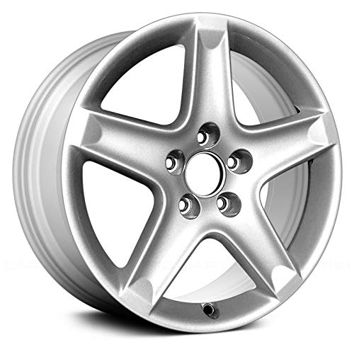 CHEAP Replacement 5 Spokes Silver Factory Alloy Wheel Fits