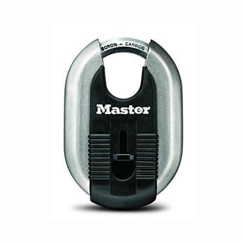 Master Lock Padlock, Magnum Stainless Steel Lock, 2-5/16 in. Wide, M187XKAD