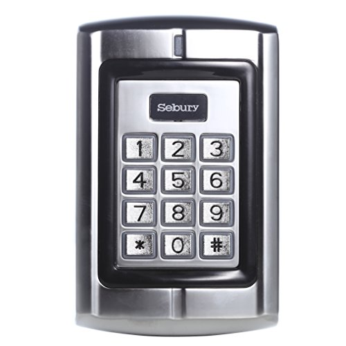 UHPPOTE 125KHz RFID EM ID Card Metal Stand-alone Access Control Keypad by UHPPOTE