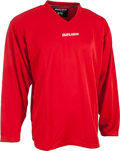 d8d963045b8 Amazon.com : Bauer Core Practice Jersey Youth Sizes (Red, Large ...