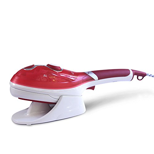 LJHA Vapeur Vapeur Machine à main chaude Petite mini brosse à vapeur Voyage portable brosse à vapeur 2 couleurs disponibles 295mm Bateau à vapeur ( Couleur : Rouge )