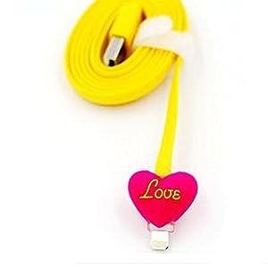 LIKESEA LED Light 3D Data Sync Charger 8 Pin USB Cable for Apple iPhone 5, 5S, 5C, SE, 6, 6S, 6 Plus, 6s Plus/ iPad Air2, pro, mini 2/ 3/ 4, iPad 4/ 5/ 6