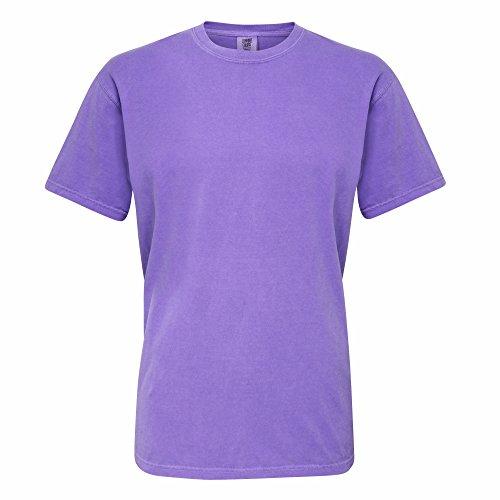 Comfort Colours Adults Unisex Short Sleeve T-Shirt (XL) (Violet)