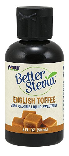 English Food (NOW  Foods Liquid Stevia, English Toffee, 2-Ounce)