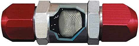 """AirSept 76100 In-Line SAE High Side Filter for 5//16/"""" 3//8/"""" or 1//2/"""" Line"""