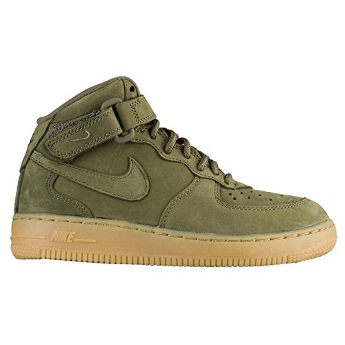 Nike Kids Air Force 1 High WB Grade School-Medium Olive-6 by NIKE