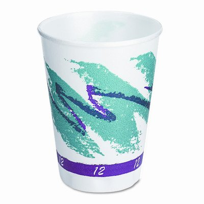 Solo Cups Company Symphony Design Trophy Foam Hot/Cold Cups, 1000/Carton by SOLO Cup Company