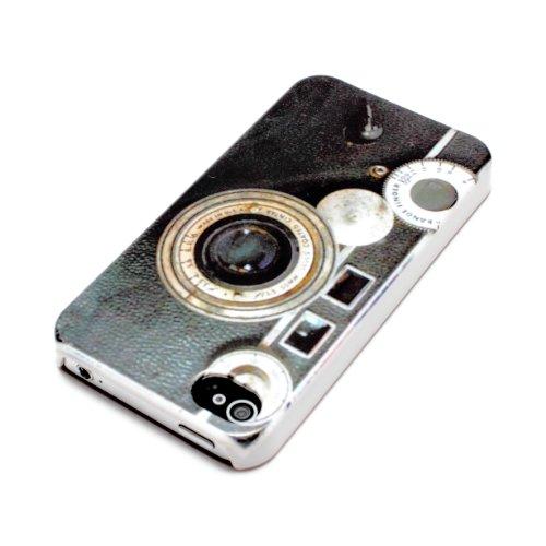 deinPhone Apple iPhone 4 4S HARDCASE Hülle Case Retro Kamera
