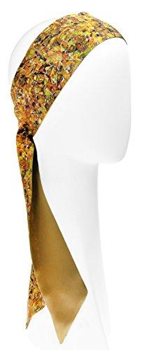 L. Erickson USA Elastic Loop Headband - Yellow Multi by L. Erickson USA