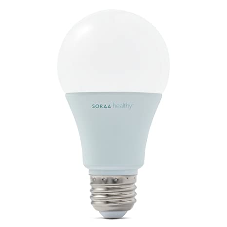 SORAA Healthy For Better Sleep A19 LED Dimmable 600-Lumen Soft White (2700K)  sc 1 st  Amazon.com & SORAA Healthy For Better Sleep A19 LED Dimmable 600-Lumen Soft White ...