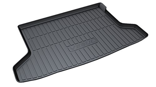 Vesul Rubber Rear Trunk Cargo Tray Rear Trunk Cover Floor Mat for Honda HR-V HRV Vezel 2014-2016